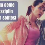 Warum du deine Selbstdisziplin trainieren solltest (mit einfacher Übung)