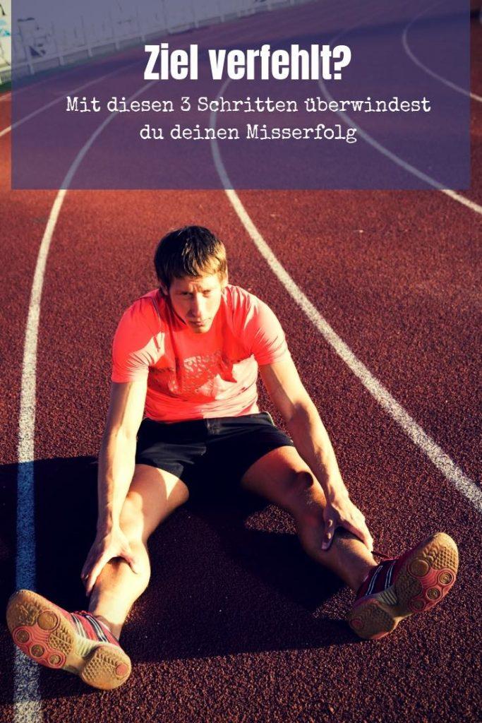 Du bist gerade an deinem sportlichen Ziel gescheitert? Hast einen richtigen Misserfolg gehabt? In 3 Schritten kommst du zurück auf die Erfolgsspur.