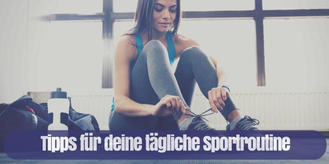 sport tipps gewohnheiten