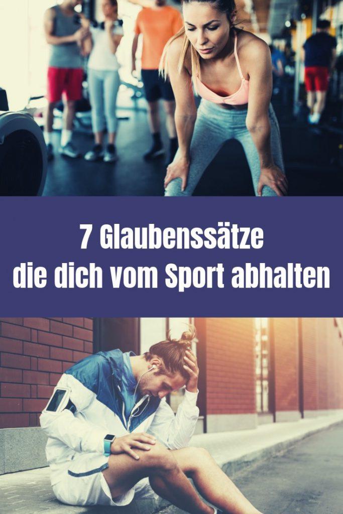 Glaubenssätze sind mehr als Ausreden. Sie bestimmen dein Handeln. Im Artikel nenne ich7 Gründe, warum du auf keinen Fall Sport machen solltest!