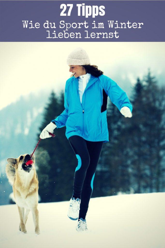 Sport im Winter ist toll! Die Landschaft wirkt in weißer Pracht friedlicher und Bewegung in Eiseskälte tut gut. Lese die Tipps und auch du wirst es lieben.
