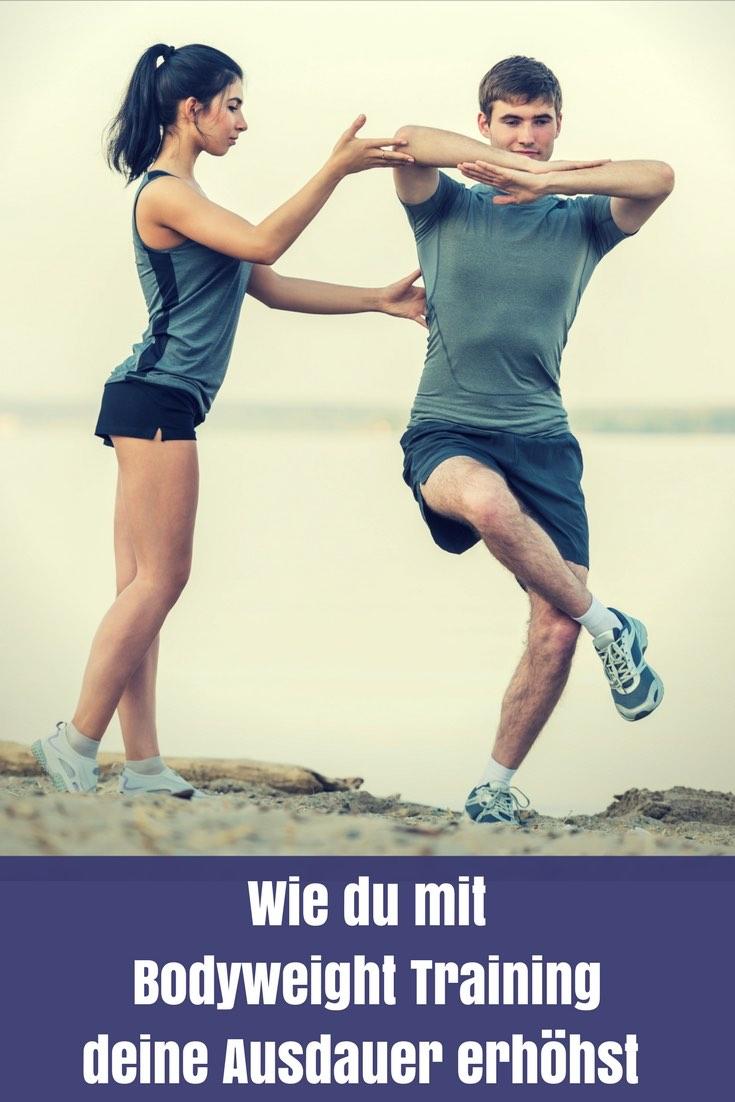 Pat von 4yourfitness.com erklärt dir, warum Bodyweight Training deine Ausdauerleistung steigert und welche Übungen am besten dafür geeignet sind.