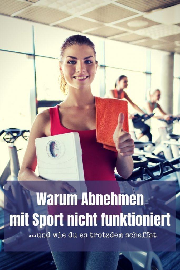 Du willst ein paar Kilo los werden? Im Artikel erkläre ich dir, warum Abnehmen mit Sport allein nicht funktioniert und wie du die Pfunde dennoch los wirst.