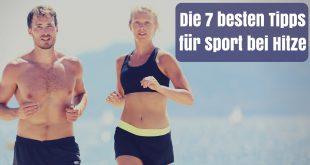 Sport bei Hitze