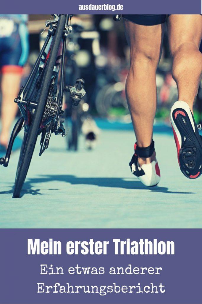 Eine Ehemann berichtet über seine Erfahrungen mit dem ersten Triathlon seiner Frau - amüsant, frei von der Leber weg und direkt aus dem Leben gegriffen.