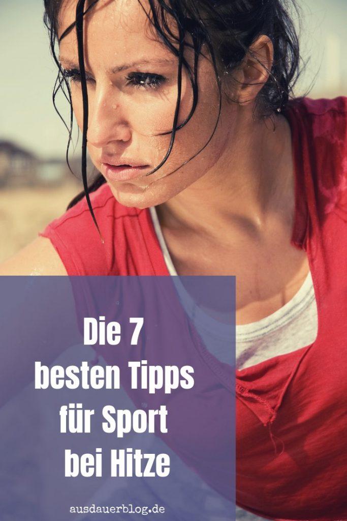 Bei extremer Hitze sinkt die Leistungsfähigkeit. Wie du auch im Sommer dein Training absolvieren kannst, verrate ich im Artikel über Sport bei Hitze.