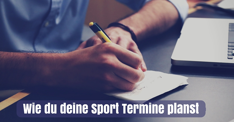 sport termine planen