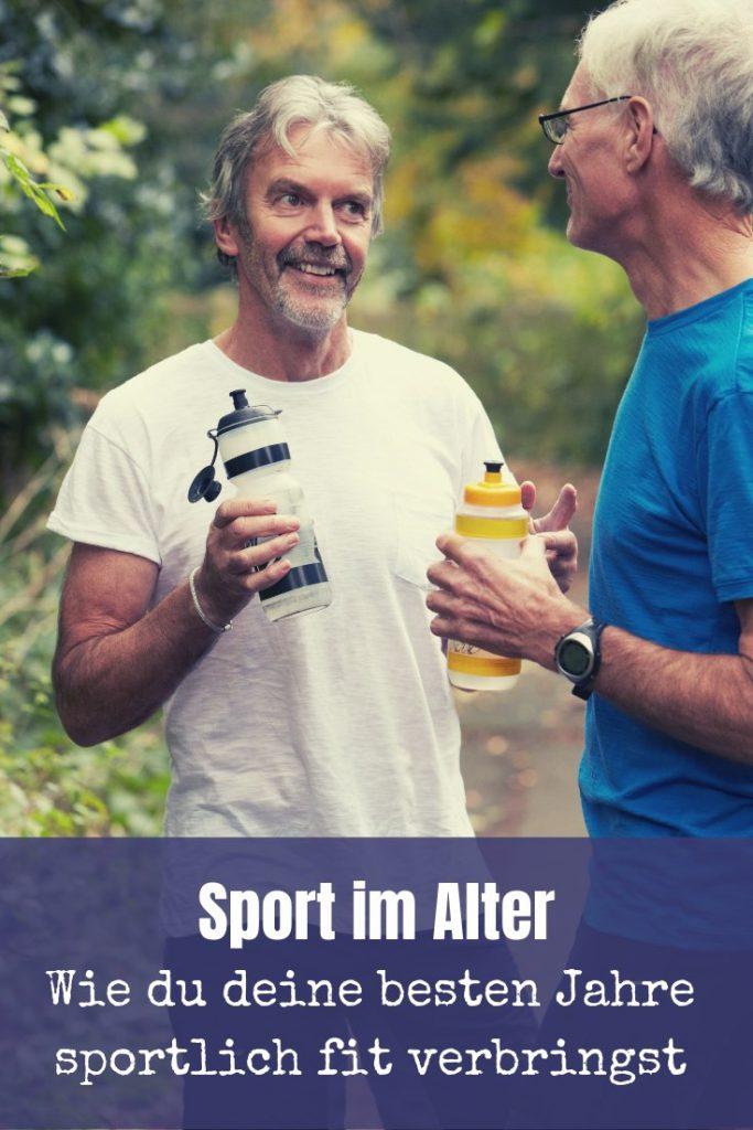 Frage: Wann ist man alt? Antwort: Wenn man sich so fühlt! Sport im Alter ist eine wichtige Voraussetzung für Gesundheit und Wohlergehen in den besten Jahren