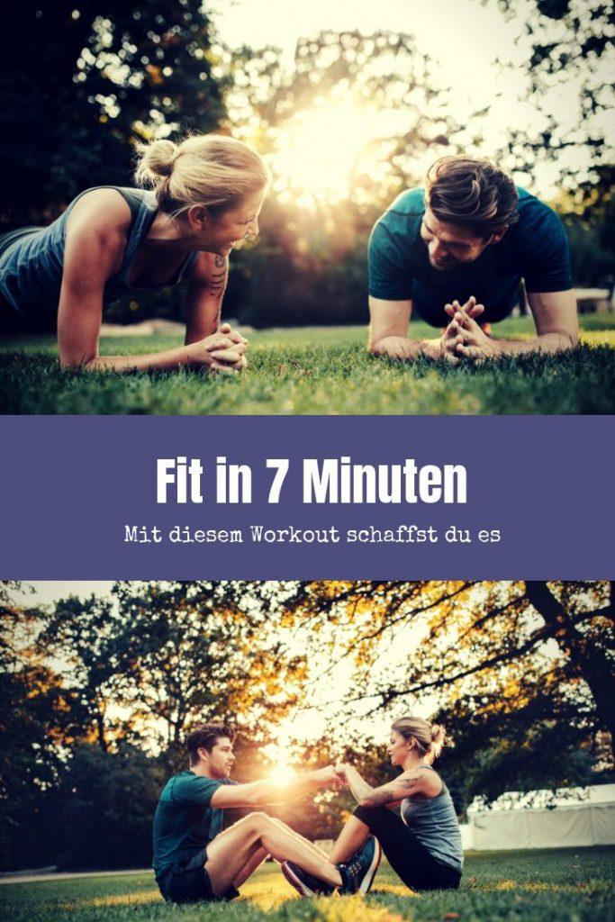 Mit 7 Minuten Training in Topform? Mit diesen Übungen mit deinem Eigengewicht ist das möglich. Absolviere dafür das kurze intensive Training täglich.