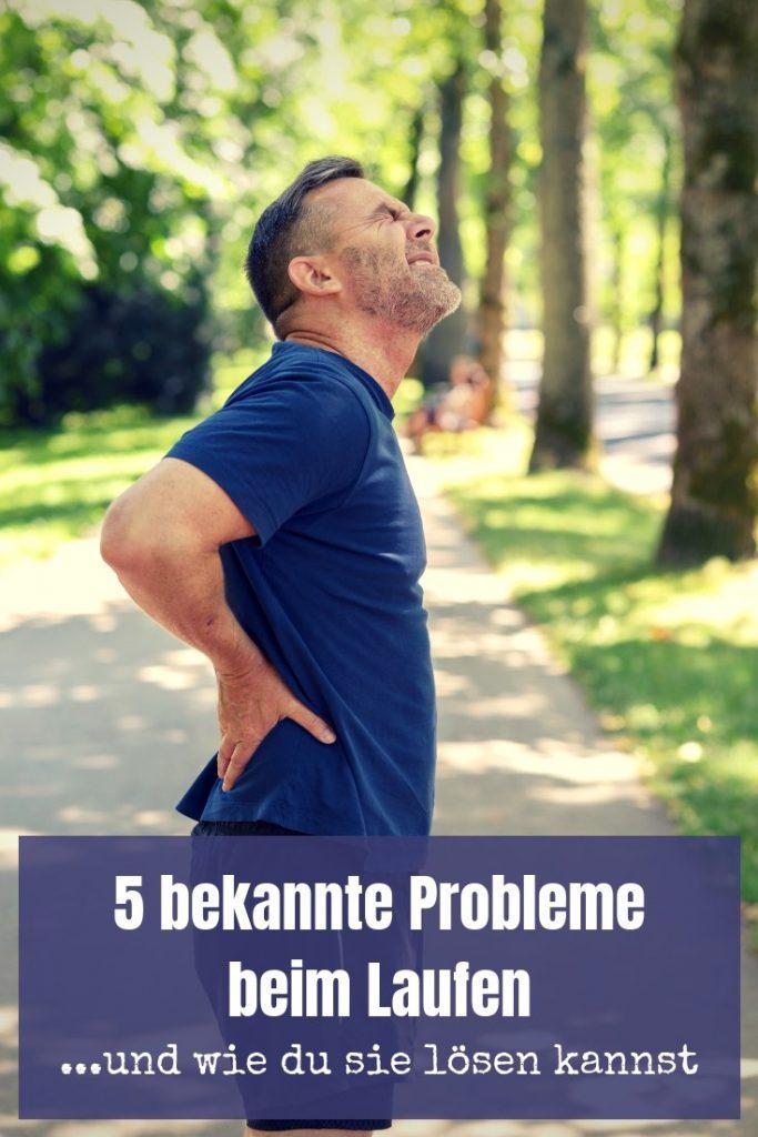 Laufen ist ein toller Sport und dennoch natürlich nicht problemfrei. 5 der bekanntesten Probleme beim Laufen habe ich analysiert und biete Lösungen an.