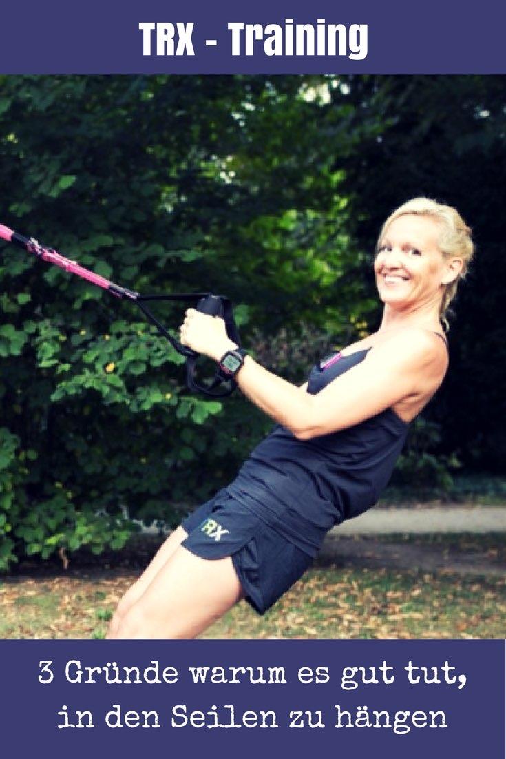 Beatrice Drach erklärt in ihrem Gastbeitrag, warum TRX Training als Ganzkörperworkout eine perfekte Ergänzung zu deinem Ausdauertraining ist.