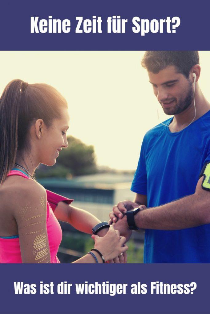"""""""Keine Zeit für Sport"""" ist das, was ich am Häufigsten lese, wenn ich frage, was dein größte Fitnessproblem ist. Dabei ist es nur eine Frage der Prioritäten!"""