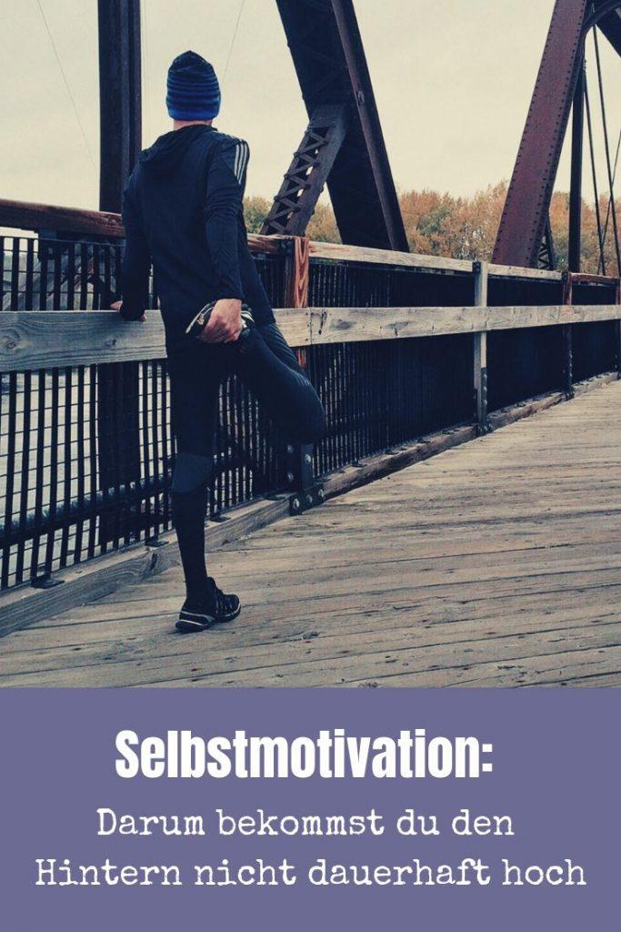 Selbstmotivation ist eines der elementaren Dinge auf deinem Weg zum dauerhaften Sportler. Also: Hintern hoch und auf geht's!