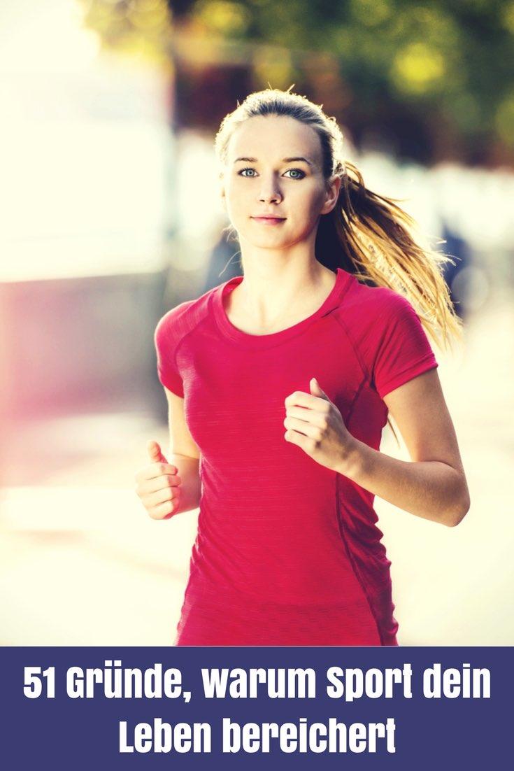 Sport ist Mord, aber kein Sport bringt dich auch unter die Erde. Ich hab hier 51 Gründe für dich, warum Sport dein Leben bereichert.