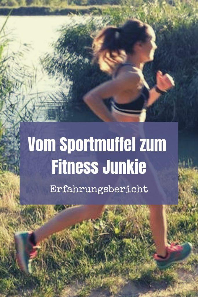 Wie man vom Sportmuffel zum Fitness-Junkie wird und warum niemand ein Anti-Sportler ist. Ein Erfahrungsbericht von Franziska Münzker.