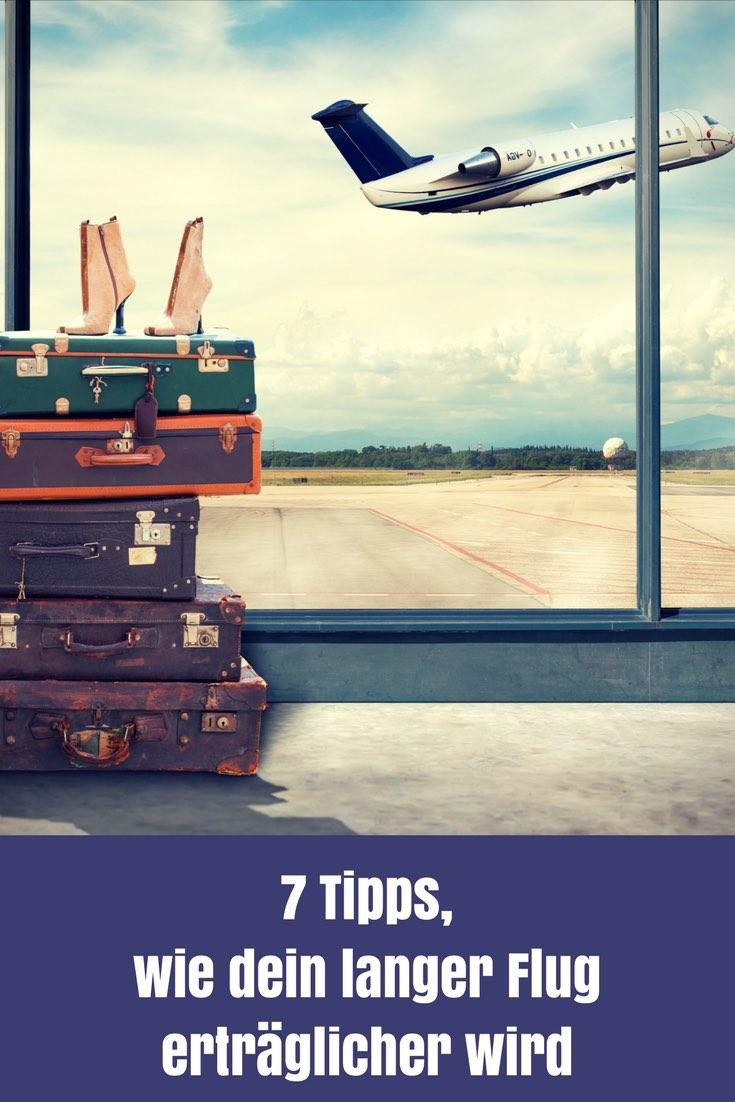 Nicht wenige schreckt ein langer Flug von einem Urlaub weit weg ab. Doch das ist nicht notwendig, wenn du diese 7 Tipps für lange Flugreisen beachtest.