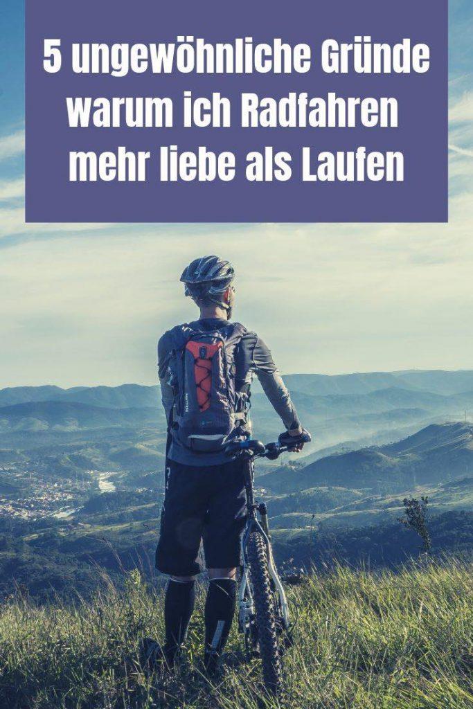 Radfahren oder Laufen? Das frage ich mich regelmäßig. Hier gibt es 5 außergewöhnliche Gründe, warum das Radfahren doch meistens siegt.