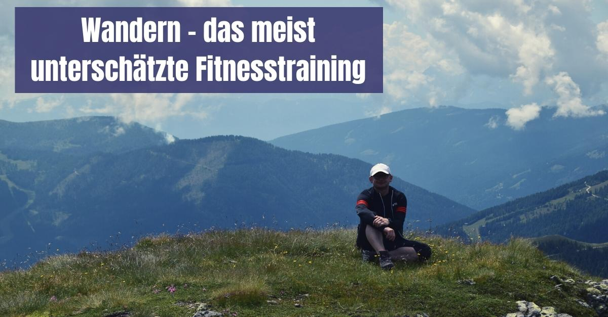 Wandern gehen Fitness