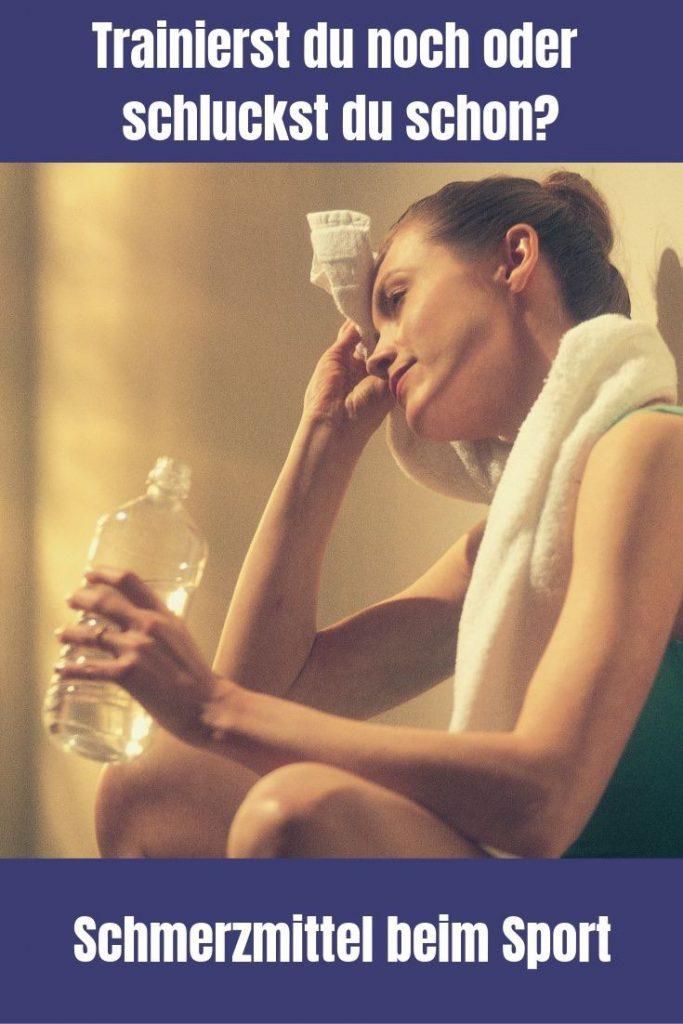 Im Freizeitsport werden Schmerzmittel im großen Maßstab benutzt. Die wenigsten Sportler wissen dabei, was sie ihrem Körper damit antun.