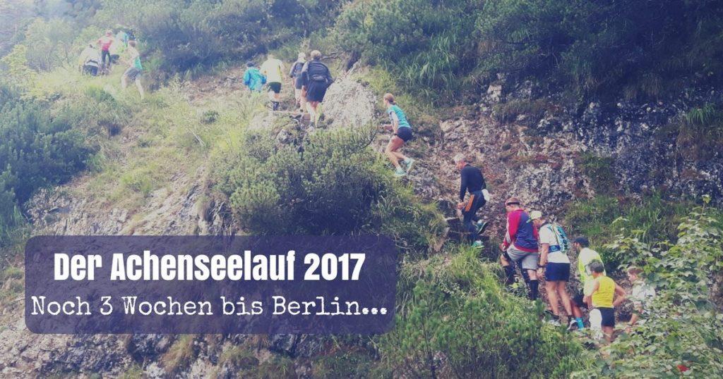 Achenseelauf 2017