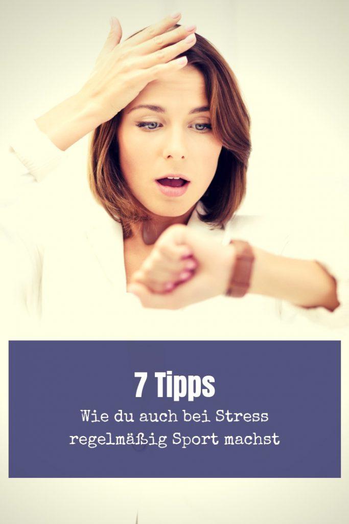 Du bist müde, genervt und hast keinen Bock auf Sport. Stress macht sich breit. Wenn das der Fall ist, helfen dir diese 7 Tipps!