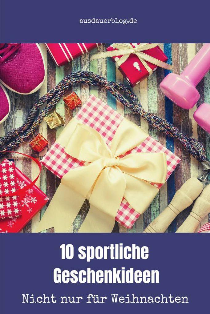 Jedes Jahr die gleiche Frage - Was soll ich nur verschenken? Hier sind meine 10 besten sportlichen Geschenkideen - nicht nur zu Weihnachten.