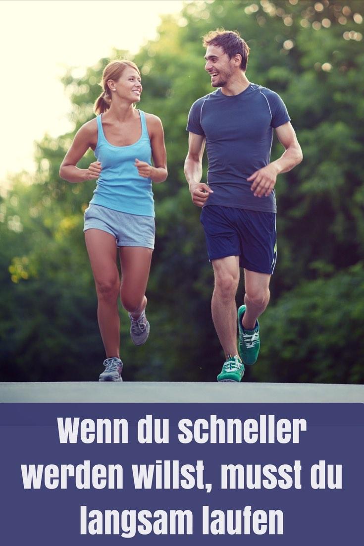 Nur wenn du langsam laufen kannst, wirst du perspektivisch auch richtig schnell und lang laufen können. Warum das so ist, erklärt dir der Artikel...