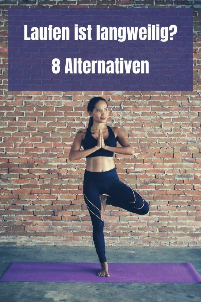 Du findest Laufen langweilig? Dann hat Michelle hier 8 spannende Alternativen für dein Fitnesstraining. Damit ist die Langweile garantiert Geschichte!