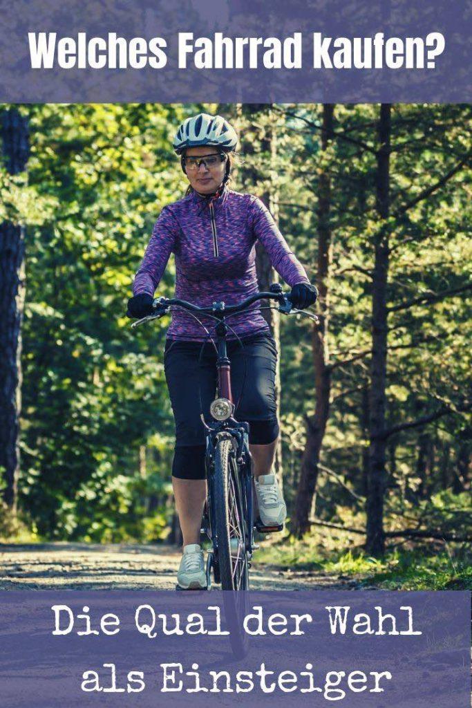 Bevor du die ersten Runden auf dem Rad drehen kannst, steht die Frage: Welches Fahrrad kaufen? Ich stelle die gängigsten Typen vor...
