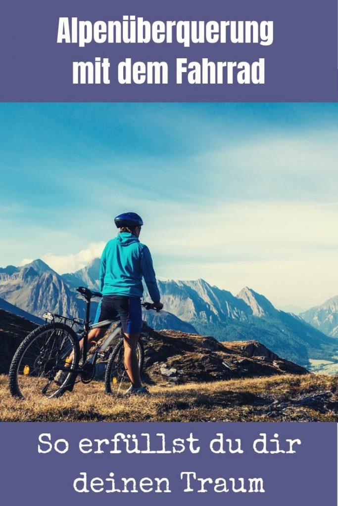 Für viele der absolute Traum: Eine Alpenüberquerung mit dem Fahrrad. Ich stelle dir die Möglichkeiten vor und nehme dich mit auf meine Transalp 2018