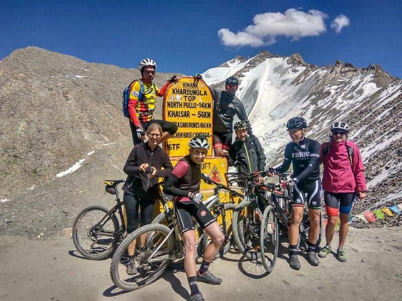 Manali Leh Mountainbike Indien