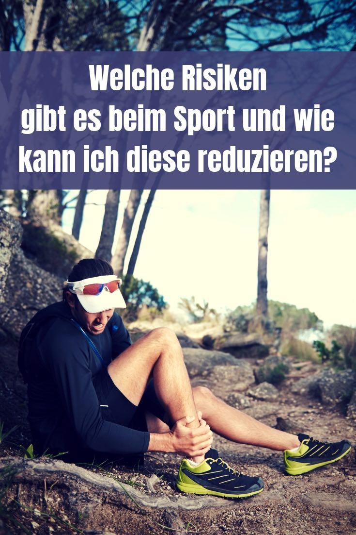 Ausdauersport ist zwar risikoarm, dennoch kann immer mal wieder etwas passieren. So reduzierst du die Risiken beim Sport.