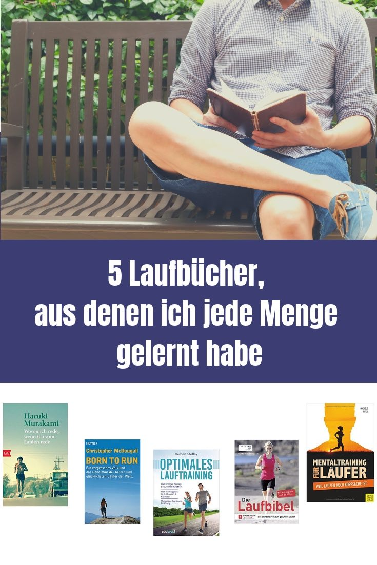 Laufbücher sind spannend und das nicht nur, weil sie Wissen enthalten. In jedem der Bücher zeige ich dir ein wichtiges Learning für mich.