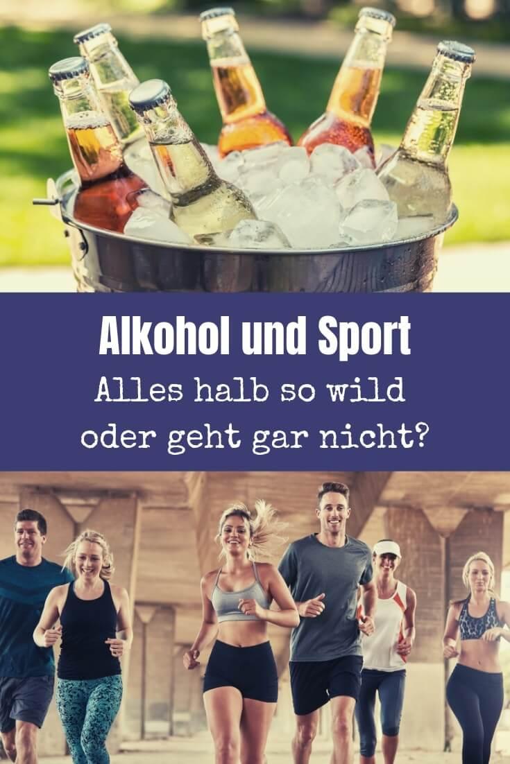 Alkohol und Sport - passt das zusammen? Während hier viele Artikel schnell dogmatisch argumentieren, habe ich die Sache mal etwas differenzierter betrachtet