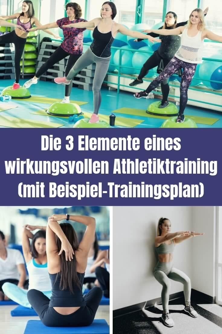 Zu einem guten Athletiktraining für Läufer gehören die Elemente Kraft, Beweglichkeit und Stabilität. In einem Praxisbeispiel bekommst du sie kombiniert.