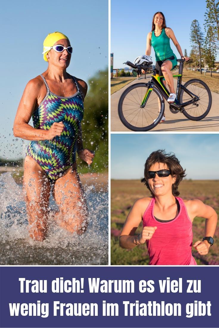 Es gibt zu wenig Frauen im Triathlon und das soll sich ändern! Meint Hannah Brandner und nennt Ursachen und Lösungsansätze. Also liebe Frauen: Traut euch!