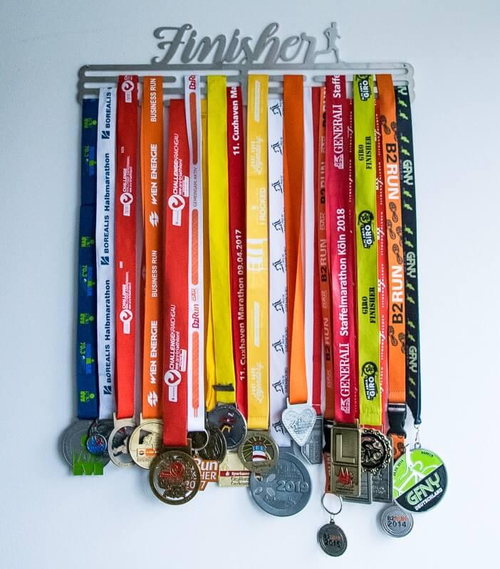 Medaillenhalter Finnischer aus Edelstahl