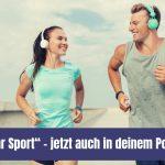 """""""Endlich mehr Sport"""" – jetzt auch in deinem Podcast-Player"""
