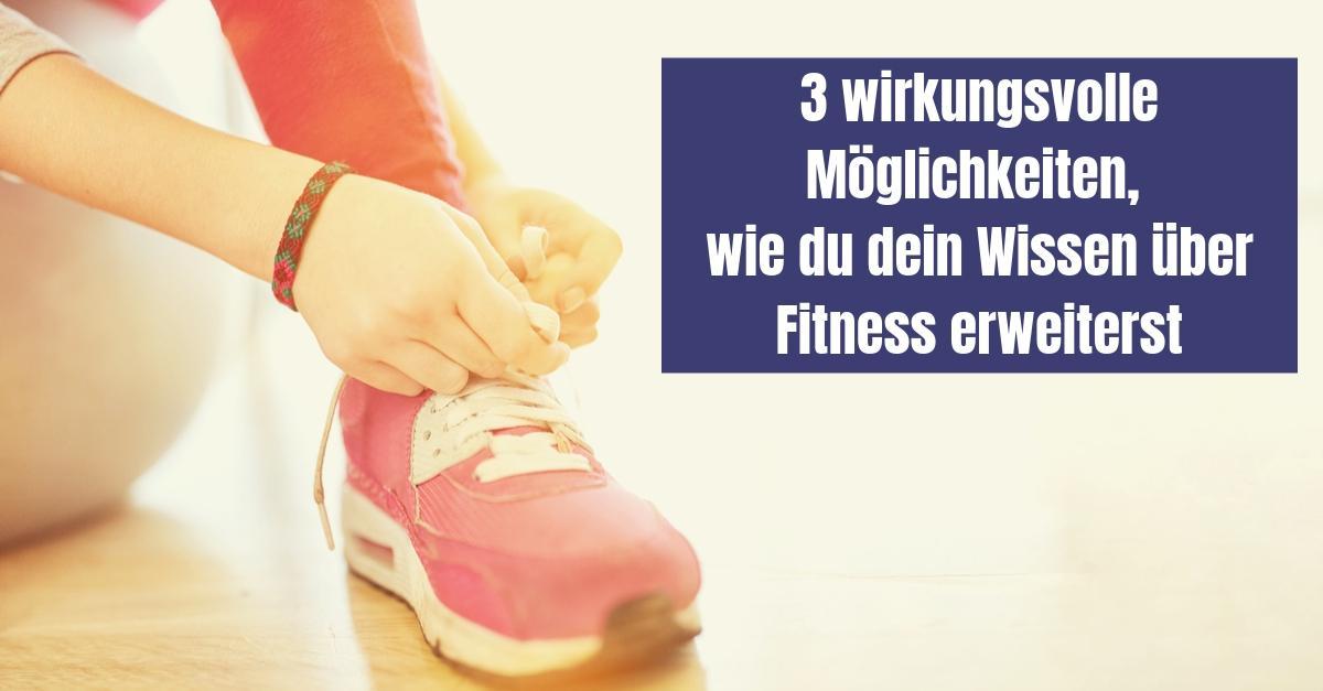 Bildungsprämie - Fitnesswissen