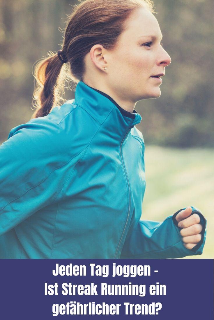 Streak Running - jeden Tag joggen ist ein Trend, der zu Jahresbeginn in Challenges durchs Netz geistert. Was steckt dahinter und ist es gar gefährlich?
