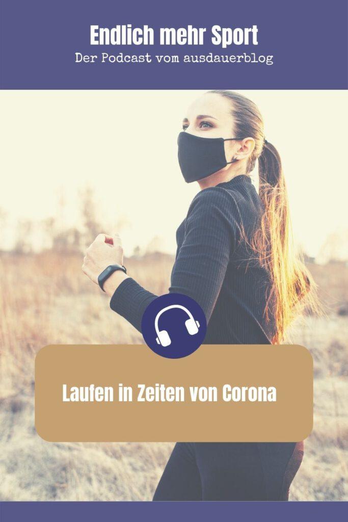 Laufen in Zeiten mit Corona