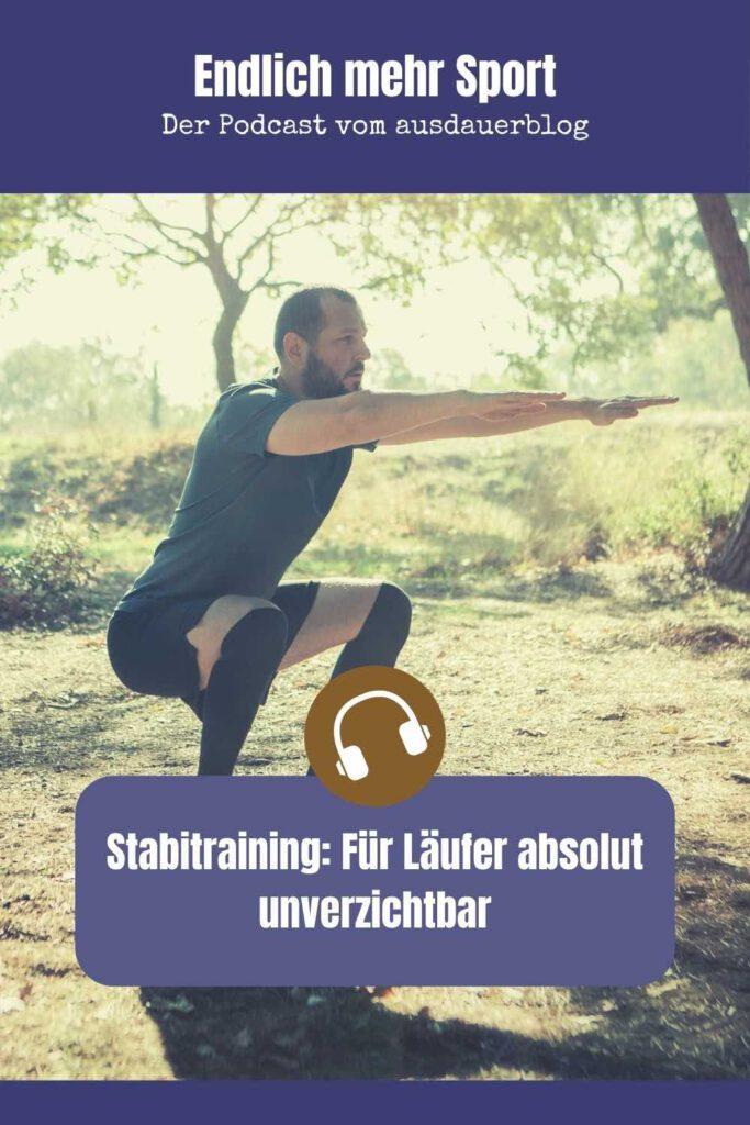 Stabitraining: Für Läufer absolut unverzichtbar