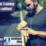 Warum du dein Training aufzeichnen solltest