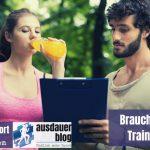 Brauchst du einen Trainingsplan?