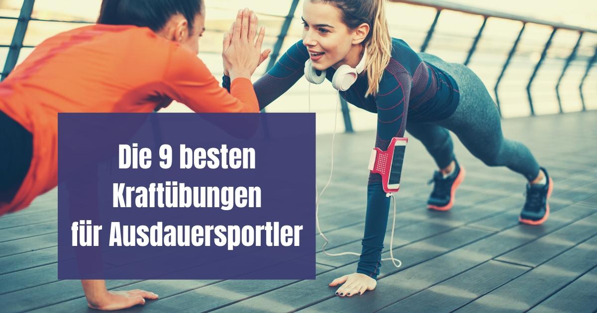 Machen Kraftübungen für Läufer Sinn? Auf jeden Fall! Hier findest du die 9 besten Übungen für Läufer, die du mit deinem eigenen Gewicht durchführen kannst.