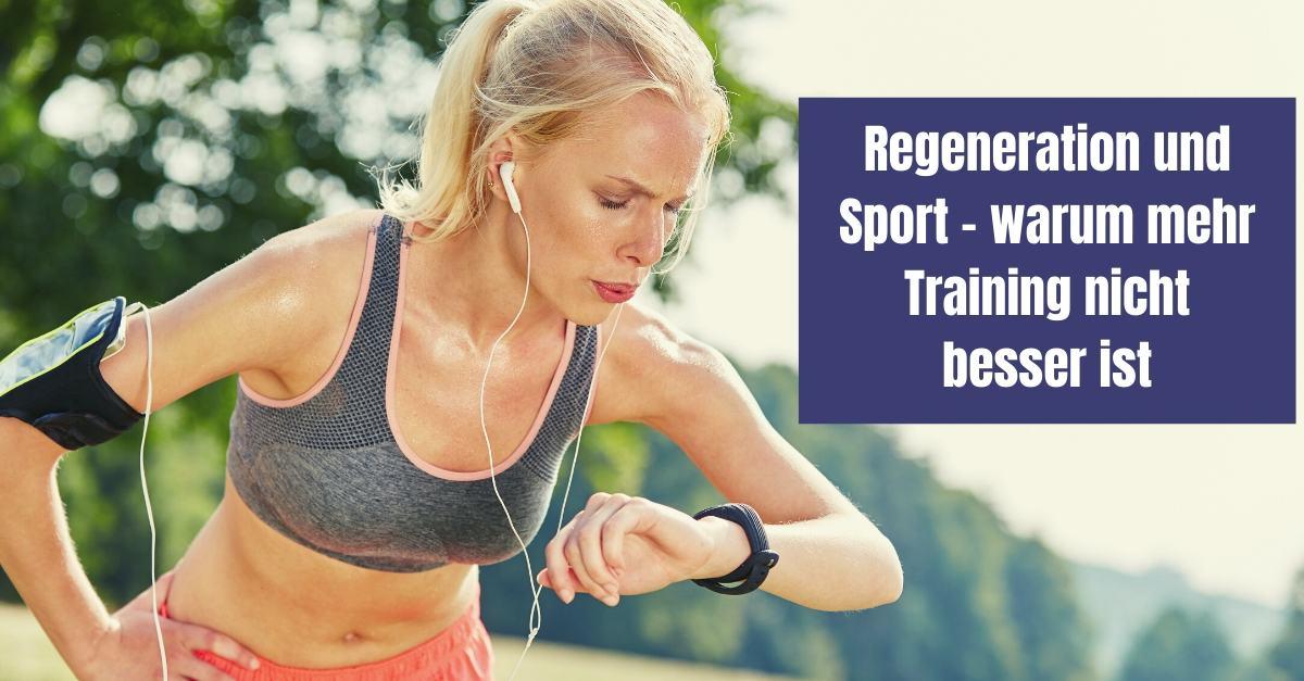 Regeneration und Sport