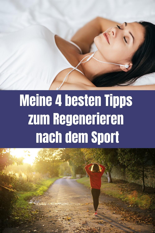 Regenerieren nach Sport