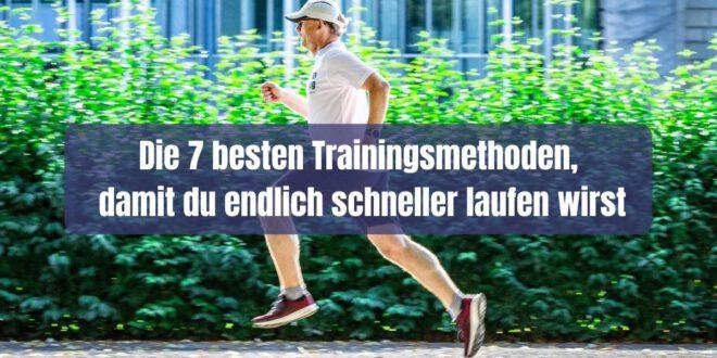 Du möchtest endlich schneller laufen können? Hier bekommst du die 7 besten Trainingsmethoden erläutert, damit auch deine Bestzeiten purzeln.
