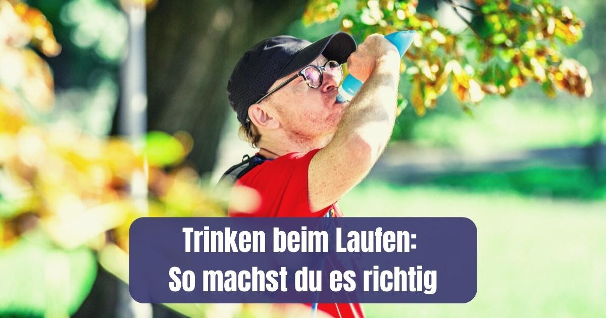Ab wann sollte ich mir was zu Trinken beim Laufen mitnehmen? Eine Frage, die sich nicht nur im Hochsommer stellt. Meine Antworten und Tipps für dich....