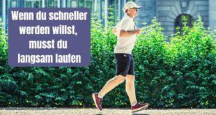 Nur wenn du langsam laufen kannst, wirst du perspektivisch auch richtig schnell und lang laufen können. Warum das so ist, erklärt dir der Artikel.